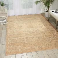 Nourison Silk Elements Sand Rug - 8'6 x 11'6