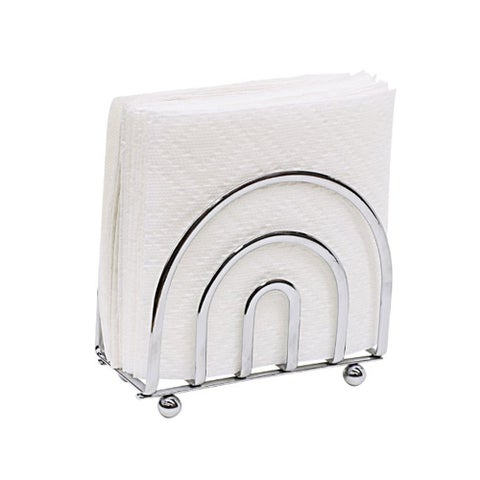 Sweet Home Collection Home Basics Chrome Flatwire Rust-resistant Napkin Holder