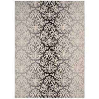 Nourison Riviera Charcoal Rug (7'9 x 10'10)