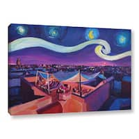 Marcus/Martina Bleichner's 'Starry Night In Marrakech' Gallery Wrapped Canvas