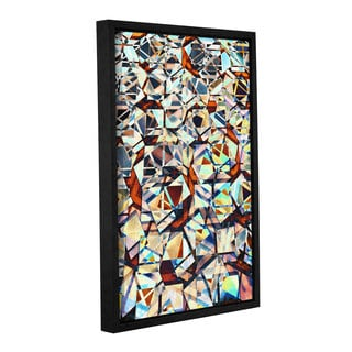 Vlad Bubnov's 'City Mosaic' Gallery Wrapped Floater-framed Canvas