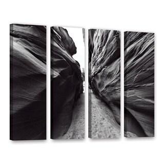 Vlad Bubnov's 'Dark Chocolate' 4-piece Gallery Wrapped Canvas Set
