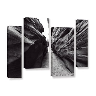 Vlad Bubnov's 'Dark Chocolate' 4-piece Gallery Wrapped Canvas Staggered Set