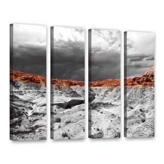 Vlad Bubnov's 'Devil's 'Amphitheater' 4-piece Gallery Wrapped Canvas Set