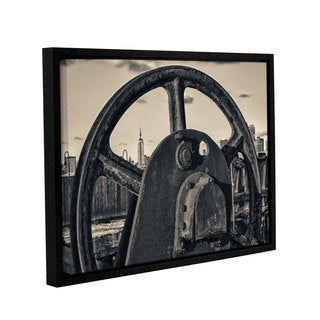 Vlad Bubnov's 'Empire Vintage' Gallery Wrapped Floater-framed Canvas
