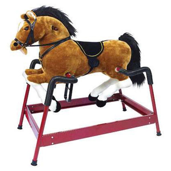 PonyLand Toys Spring Horse With Sound. Opens flyout.
