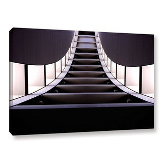 Vlad Bubnov's 'Escalator of Life' Gallery Wrapped Canvas