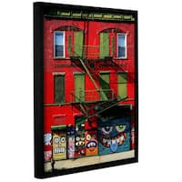 Vlad Bubnov's 'French Association' Gallery Wrapped Floater-framed Canvas
