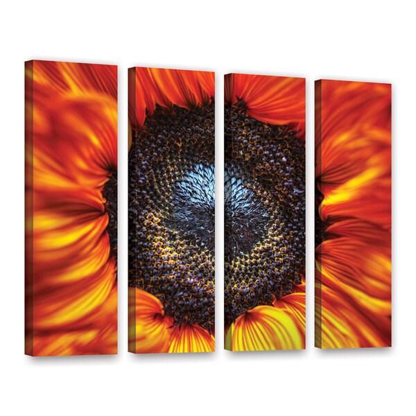Vlad Bubnov's 'Solar Flares' 4-piece Gallery Wrapped Canvas Set