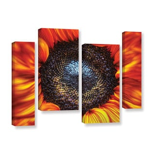 Vlad Bubnov's 'Solar Flares' 4-piece Gallery Wrapped Canvas Staggered Set