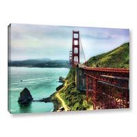Mark Goodhew's 'Golden Gate Bridge' Gallery Wrapped Canvas