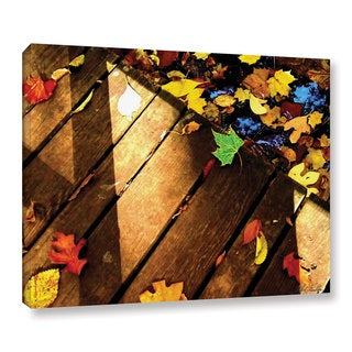 Mark Goodhew's 'Leaf_Study2' Gallery Wrapped Canvas