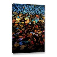Mark Goodhew's 'River Rock' Gallery Wrapped Canvas - Multi