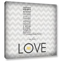 Anna Quach's 'L is for Love' Gallery Wrapped Canvas
