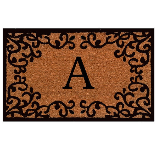 Shop Chateaux Monogram Doormat Free Shipping On Orders