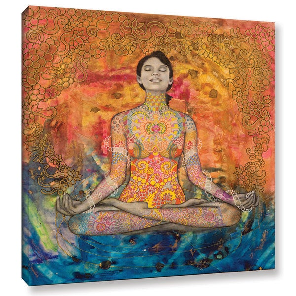 Hector & Agata Surma & Guillen's 'Meditation' Gallery Wrapped Canvas