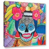 Hector & Agata Surma & Guillen's 'Tropical Mama' Gallery Wrapped Canvas