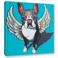 Hector & Agata Surma & Guillen's 'Angel Perrito' Gallery Wrapped Canvas