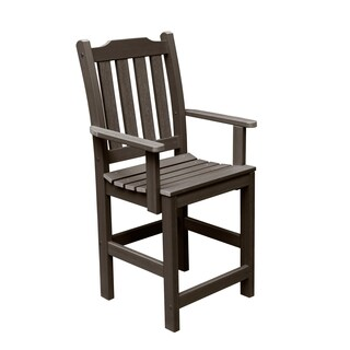 Highwood Eco-friendly Lehigh Dining Counter-Height Armchair (More options available)