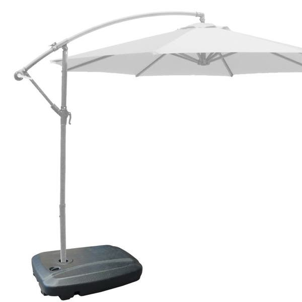 Easygoproducts Black Plastic 24 Inch X 7 Inch X 32 Inch Universal Umbrella Water Base Overstock 11851562