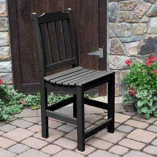 Lehigh Black Plastic Counter Side Chair