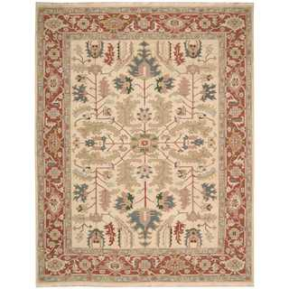 Nourison Nourmak Light Gold Rug (7'10 x 9'10)
