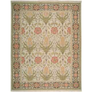 Nourison Nourmak Light Green Rug (8'10 x 11'10)