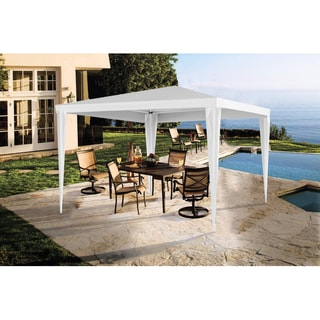 Easy-folding White Metal Gazebo Canopy Tent