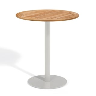 Oxford Garden Travira 36 inch Round Teak Bar Table