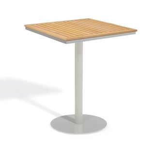 Oxford Garden Travira 32 inch Square Teak Bar Table