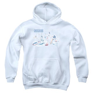 Law & Order SVU/Dominos Youth Pull-Over Hoodie in White