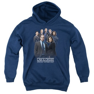 Law & Order SVU/Team Youth Pull-Over Hoodie in Navy
