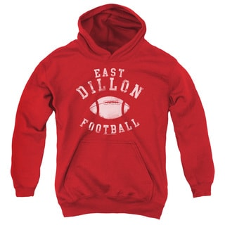 Friday Night Lts/East Dillon Football Youth Pull-Over Hoodie in Red