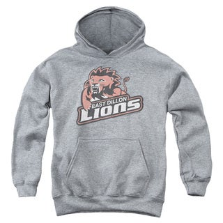 Friday Night Lts/East Dillion Lions Youth Pull-Over Hoodie in Heather
