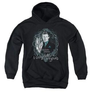Vampire Diaries/Originals Youth Pull-Over Hoodie in Black