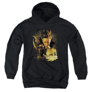Mirrormask/Queen Of Shadows Youth Pull-Over Hoodie in Black