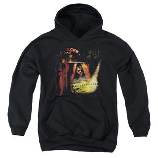 Mirrormask/Big Top Poster Youth Pull-Over Hoodie in Black