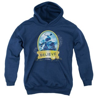 Polar Express/True Believer Youth Pull-Over Hoodie in Navy