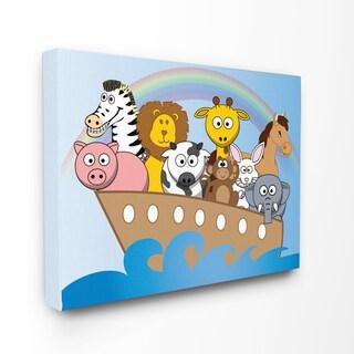 Noah's Ark Stretched Canvas Wall Art