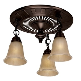 Hunter Garden District Oil-rubbed Bronze Bathroom Exhaust Fan