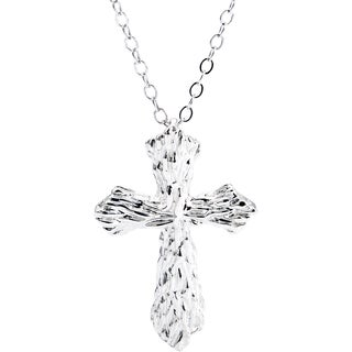 CHROMA Sterling Silver Cross Pendant with Chain