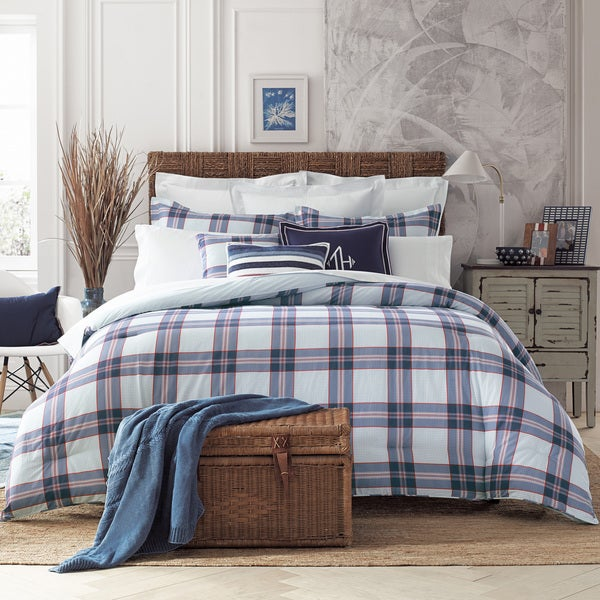 Tommy Hilfiger Surf Plaid 3-piece Comforter Set