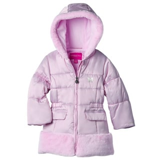 London Fog Toddler Girl Satin Coat