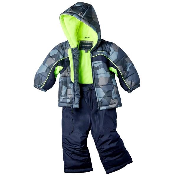 b2219e8962 Shop London Fog Toddler Boy Snowsuit - Free Shipping Today - Overstock.com  - 11852877