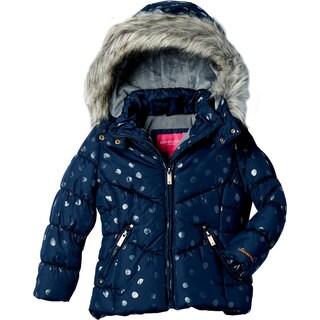 London Fog Big Girls' Fashion Quilt Coat