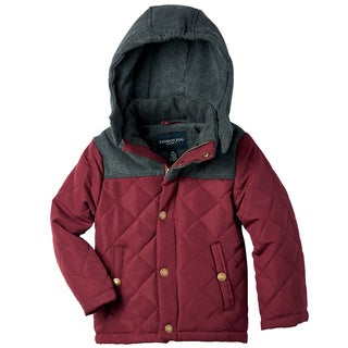 London Fog Big Boys' Quilted Jacket