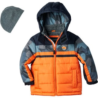 London Fog Toddler Boy Bubble Coat