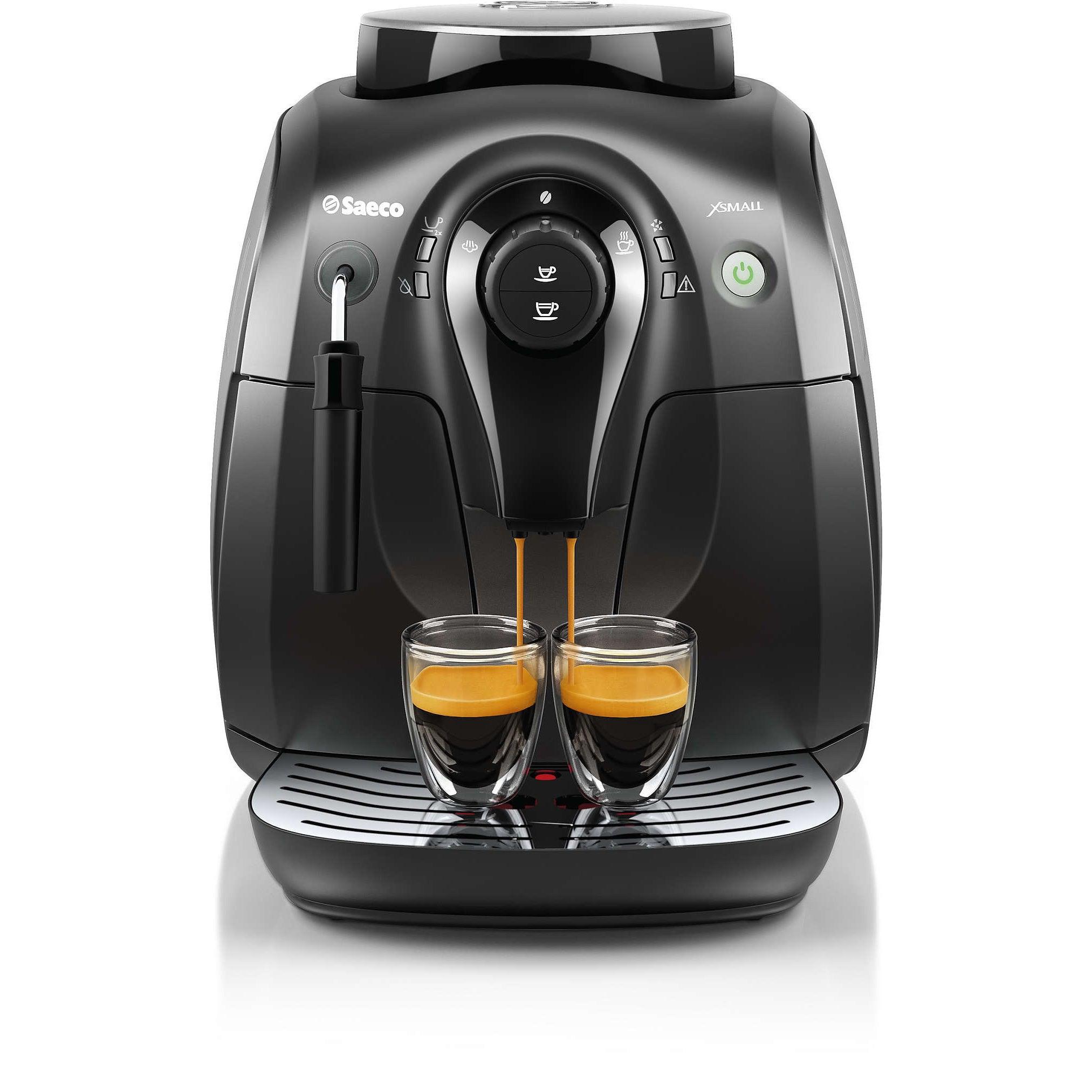 Philips Saeco HD8645/47 Xsmall Vapore Black Espresso Mach...