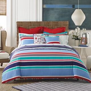 Tommy Hilfiger Dunmore 3-piece Striped Cotton Comforter Set