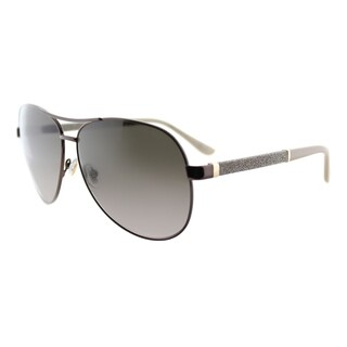 Jimmy Choo JC Lexie EJW Bronze Metal Aviator Brown Gradient Lens Sunglasses